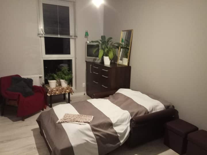 Comfort private room with car- park and garden!!!