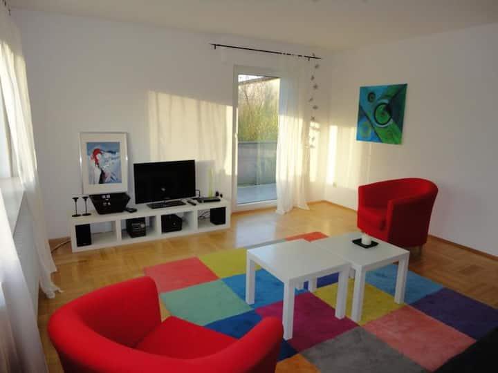 Ursenbacherhof, (Waibstadt), Ferienwohnung mit 74qm, 2 Schlafzimmer für max. 6 Personen