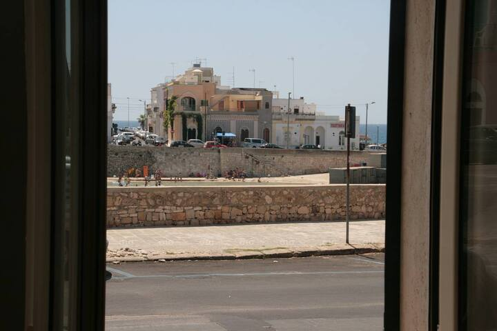 Appartamento fronte mare a Santa Maria al Bagno