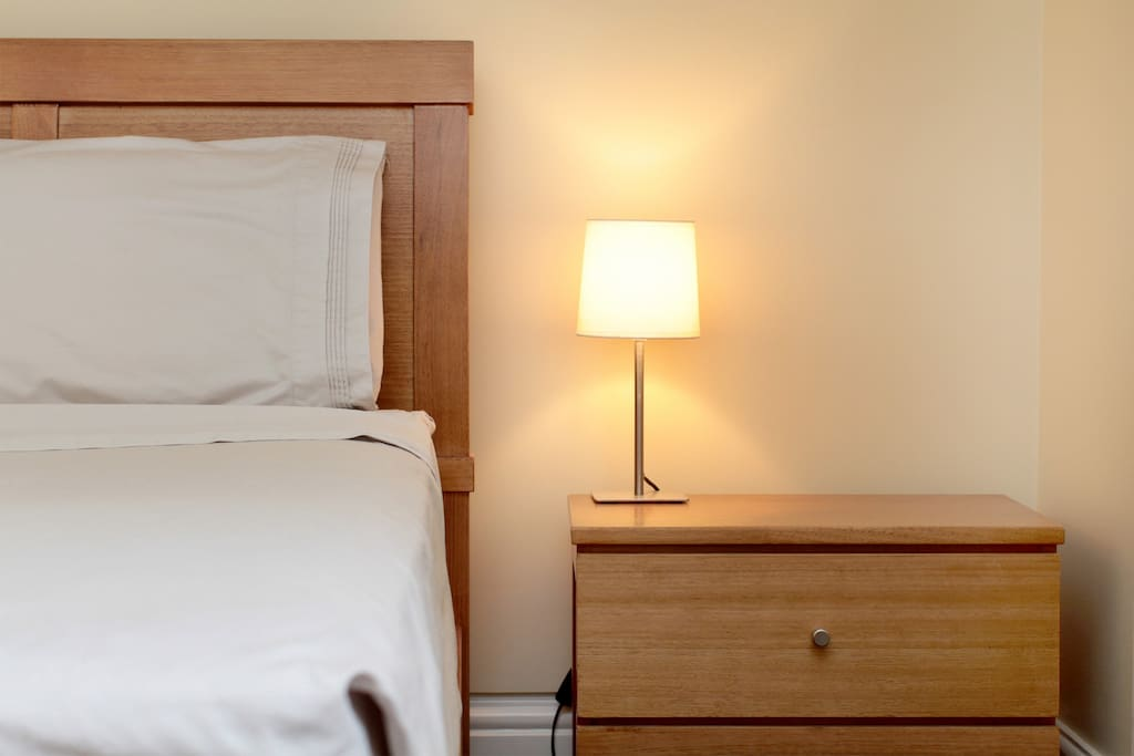 The quietness of the room will energise your travels