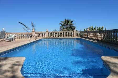 Villa con vistas y piscina - Teulada - Villa