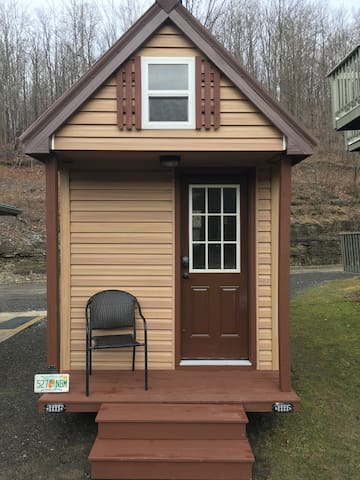 The Ballard; An Amish-Built Tiny House for Two