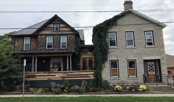 Charming Rustic Elegance- 1856 limestone home