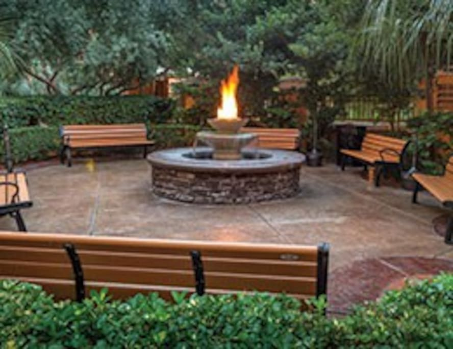 FIRE PIT FOR THOSE CHILLY NIGHTS