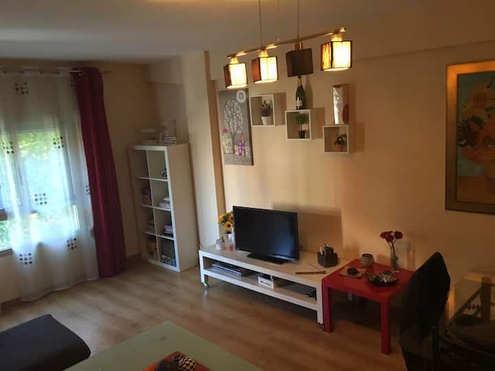 Habitación Tranquila y muy luminosa.