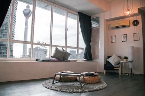 1min KLCC Twin Towers & Pavilion/Ins Cottage para los mejores recuerdos