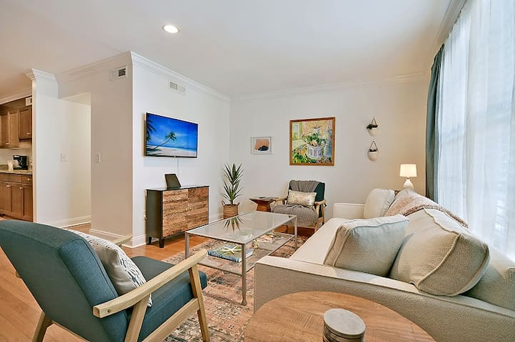 The Juniper Suite - 2 Bed/1 Bath Condo - Historic Mount Pleasant - Minutes from Shem Creek Nightlife