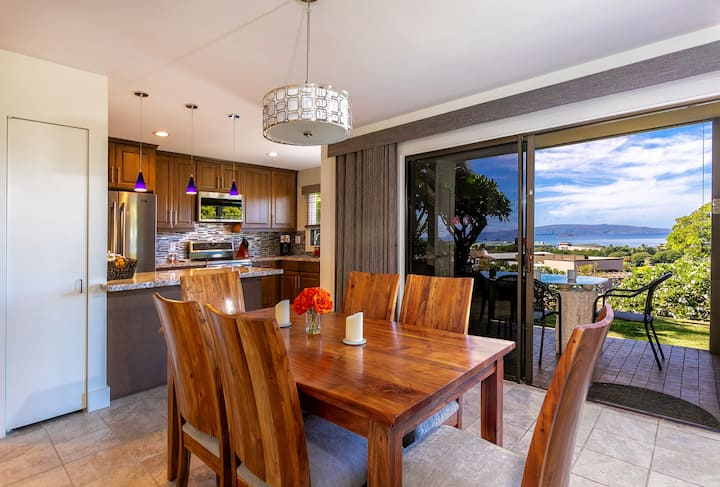Wailea Ekolu 2/2: Elegant, updated, ocean views!
