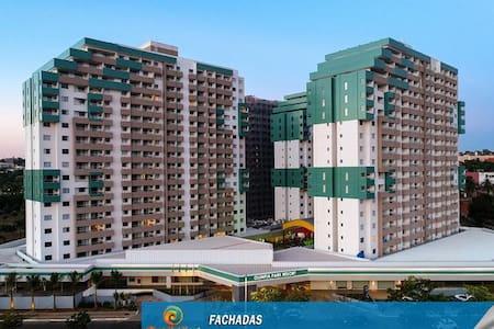 Olímpia Park Resort para até 8 pessoas no apto