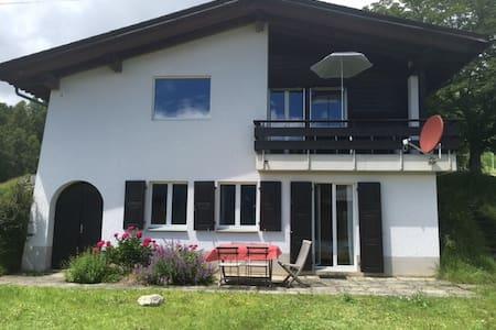 Famlienfreundliches Ferienchalet - Lumnezia - House