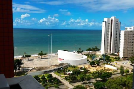 Great Boa Viagem Beach View From 1B - Recife - Departamento