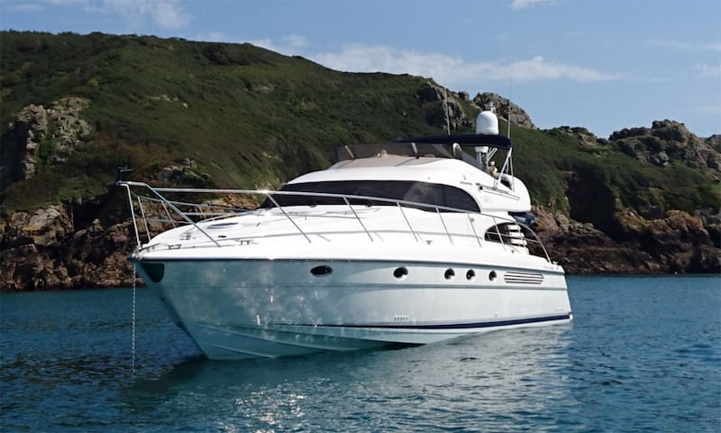 Luxury Motor Yacht / Boat in Guernsey Marina