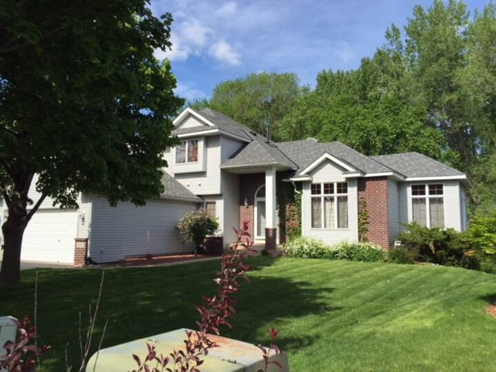 5 minutes from Eden Prairie/Flying Cloud Airport