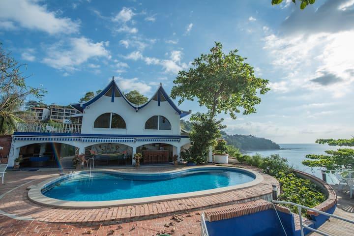 Villa Marino: Ocean View/Front in Punta Leona