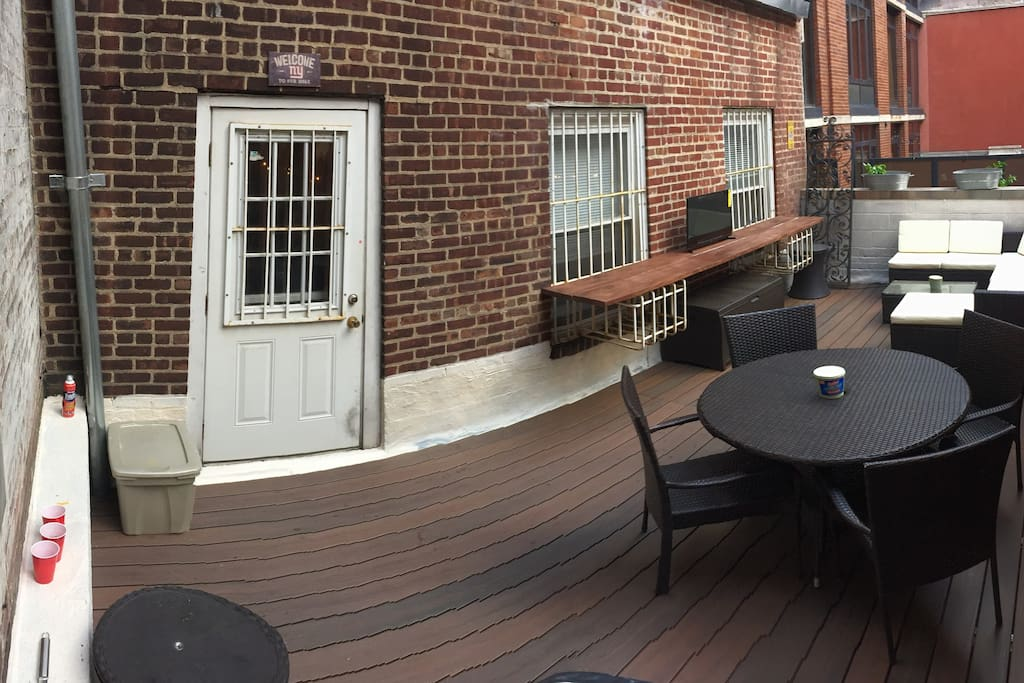 Full photo of private outdoor area in daylight