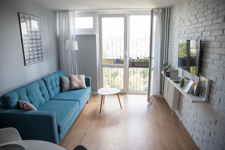 Apartment in downtown of Warsaw