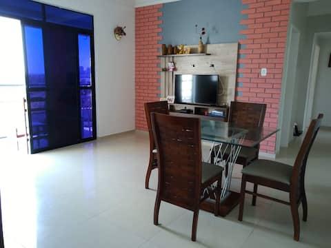 Apartamento na Ponta do Farol (Lagoa da Jansen)