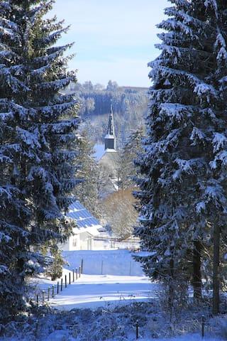 Mülheim im Winter