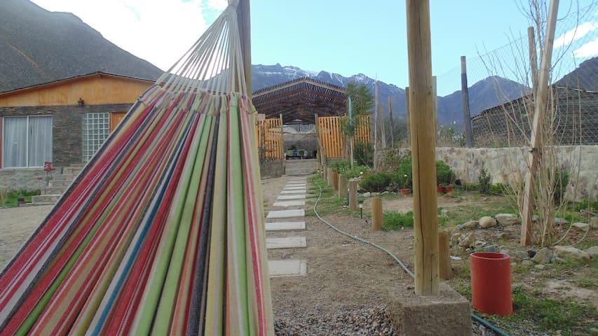 Casa en el Valle del Elqui con piscina