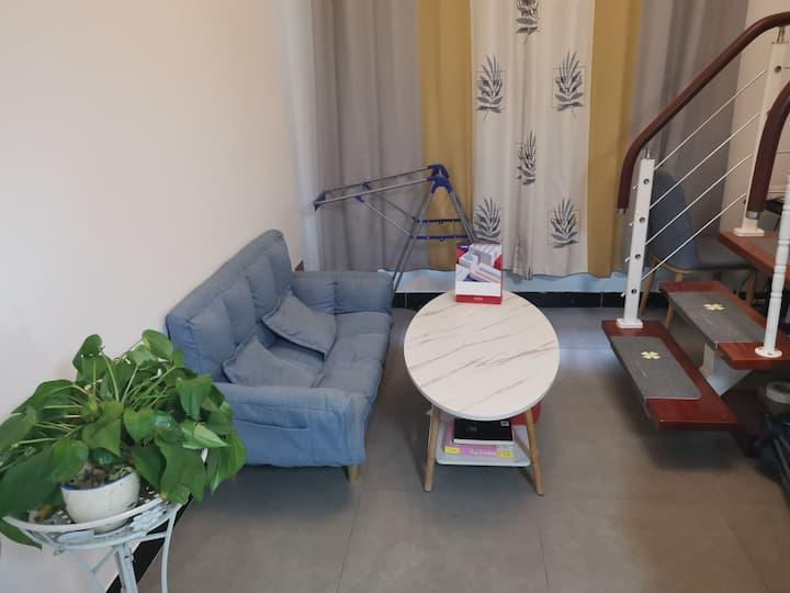 大学城中心/安师大/松鼠小镇/复式loft精装公寓