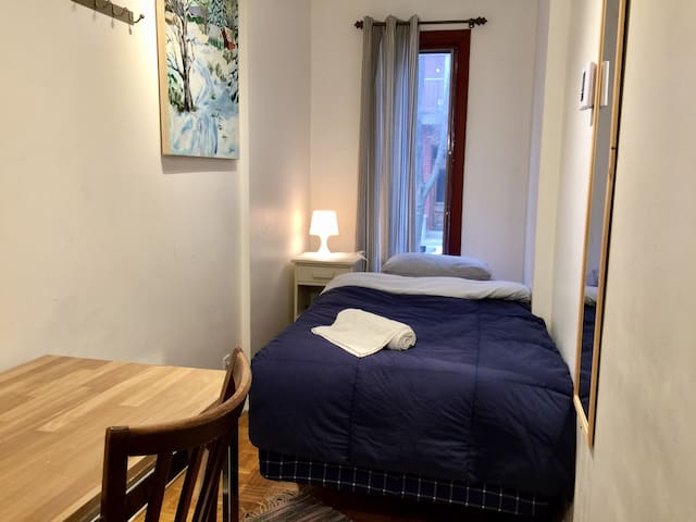 Small private room in Plateau - Montreal - Rumah