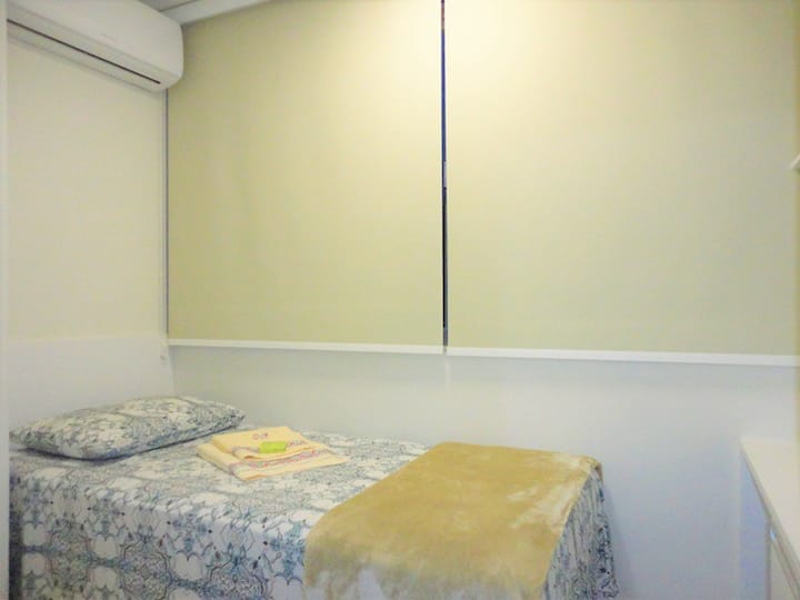 Quarto-1 cama solteiro