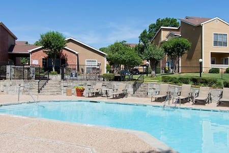 Affordable home away from home in Irving - Irving - Apartment