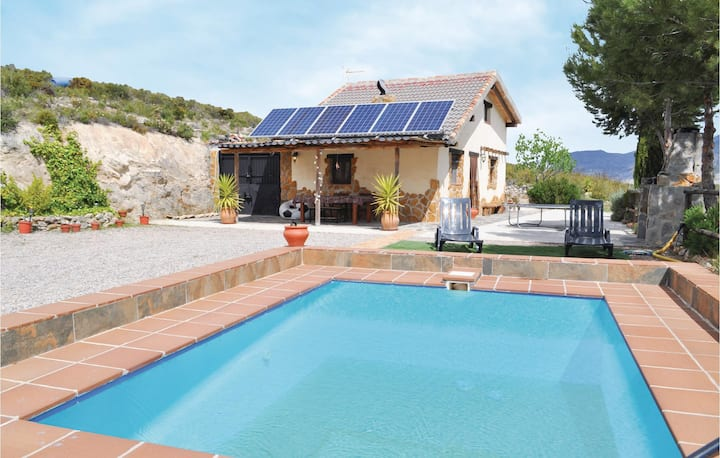 Holiday cottage with 1 bedroom on 60m² in Conchar