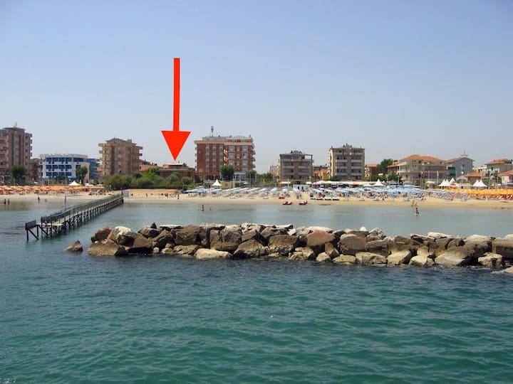 Appartamento in Villa sul Mare, giardino-spiaggia