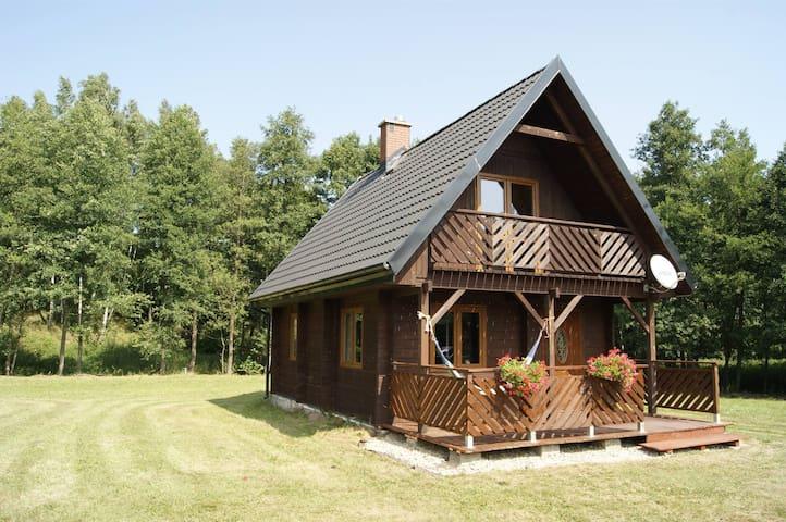 Monasteria Agroturystyka dom drewniany