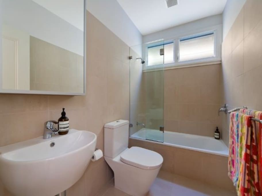 Exclusive use of bathroom