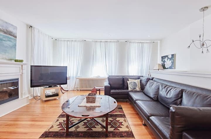 Lavender Loft - Spacious Picton Apartment