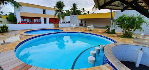 Estúdio aconchegante em Itapuã a 5 min. da praia