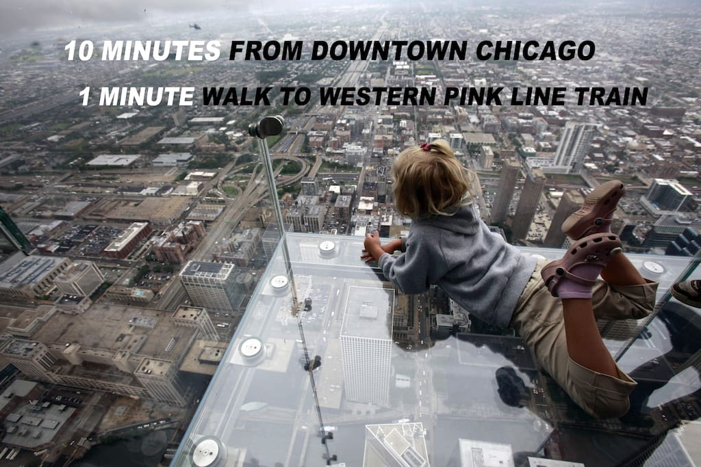 Check out Chicago's famous Skydeck! Walk on air!