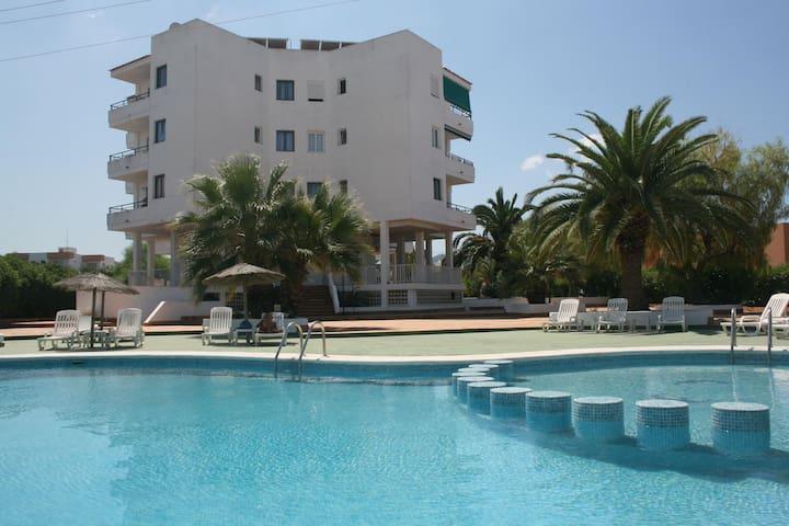 Fantastico apartamento con piscina en ibiza - Sant Josep de sa Talaia - Wohnung