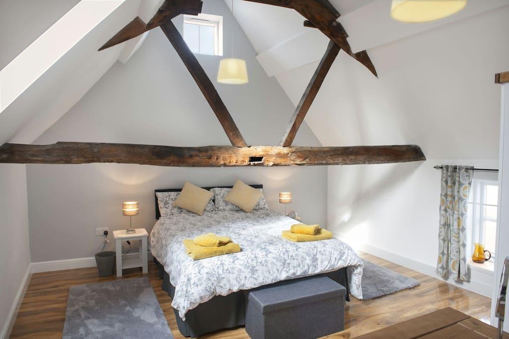 Characteristic double bedroom