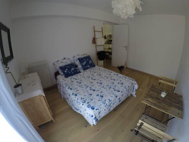 Chambre cosy dans résidence arborée calme
