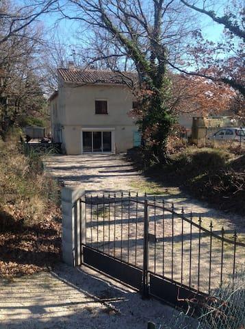 Appartement dans villa entre Cévennes et provence - Belvézet - Hus
