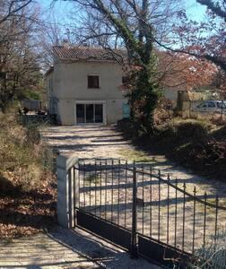 Appartement dans villa entre Cévennes et provence - Belvézet