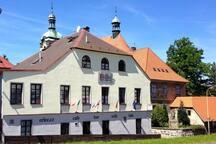 Historik Gasthaus, 10 bedrooms/with bathrooms.