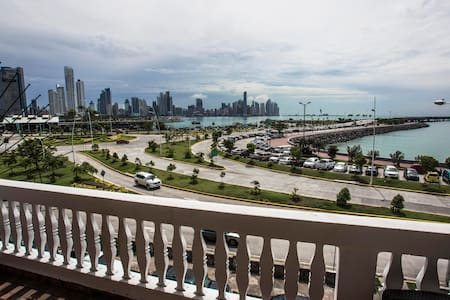 Private suite with oceanview & rooftop Casco Viejo - Panamá - Apartamento