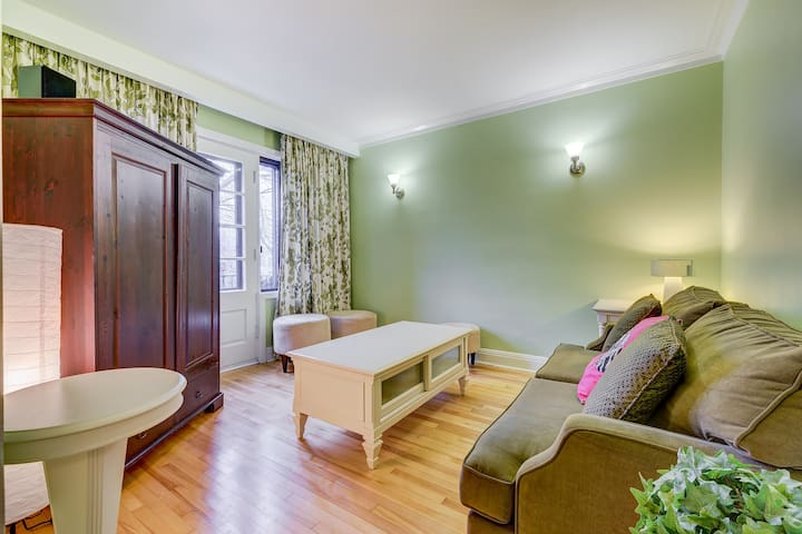 Coquet meublé rénové écolo Rosemont - Montreal - Apartment