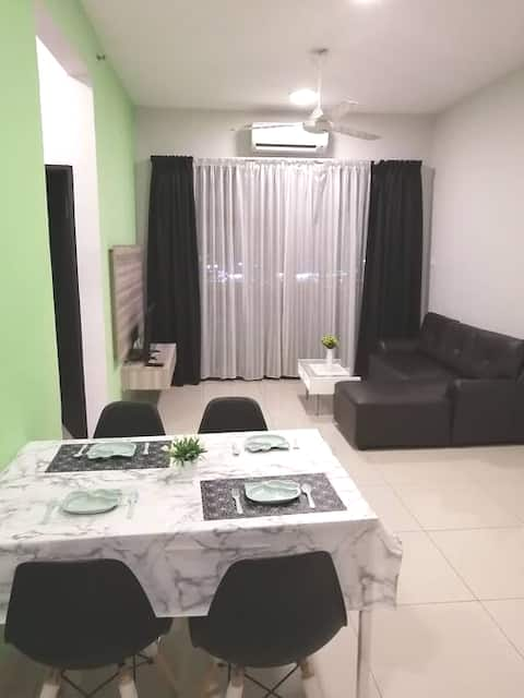 B'bellagreen Homestay,Kiara D'riva,2BR,riverview