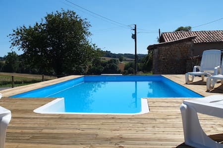Gite- fully self contained, with pool and garden - Brie-sous-Chalais