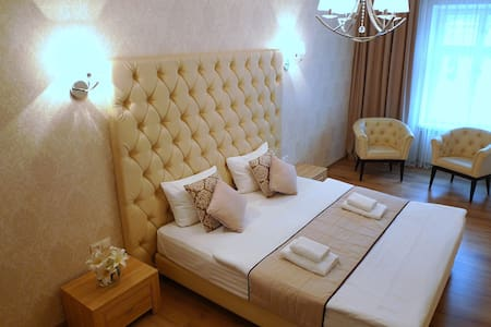 Modern apartment in historical part of Lviv