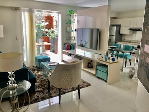 Luxury apartment near seafront