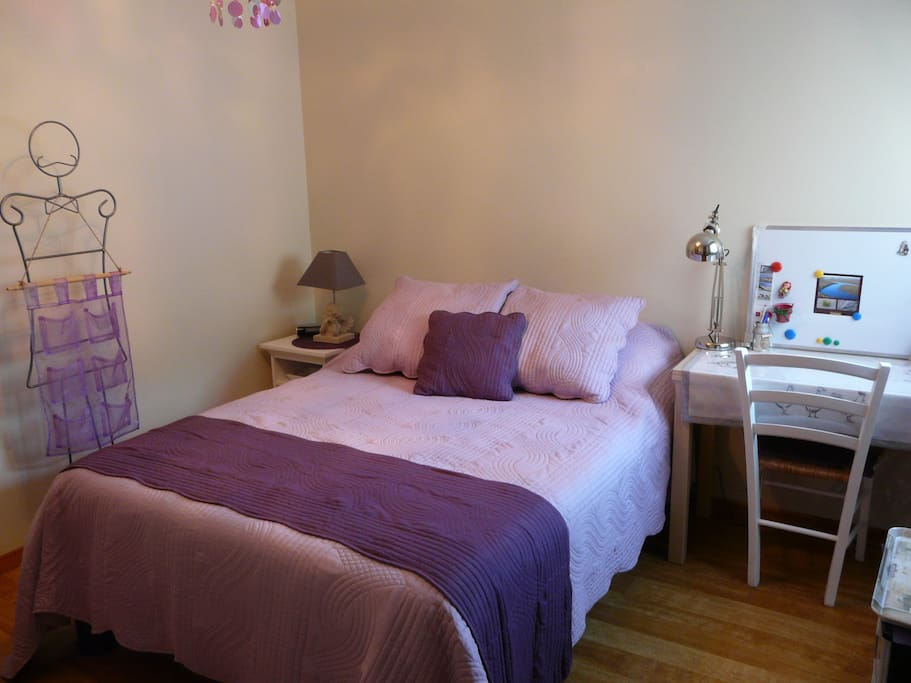 Chambre 1 -Maison Dolce Vita - voir 2ème annonce - lit 140 x 190 https://www.airbnb.fr/rooms/15432195?location=Beauvais