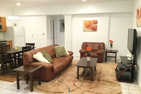 Amazing 1 Bdrm Apt w Sep Entrance in Bedford Home