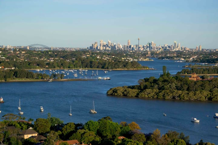 Breathtaking Views of Sydney - Rhodes - Apartemen