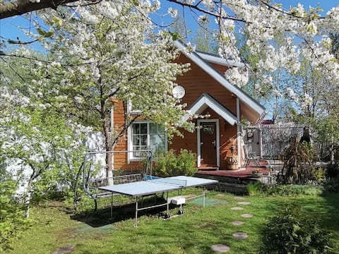 Country guesthouse with sauna
